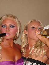 Hot and wild amateur party chicks 07