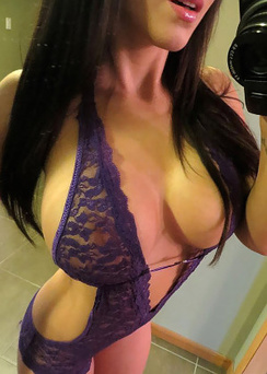 Bryci - Purple Lace Self Shot