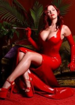 Bianca Red Latex