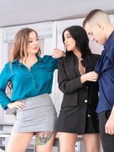 Misha Maver and Julia de Lucia Star in Anal Threesome 03